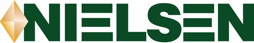 Logo for Nielsen company
